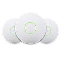 Ubiquiti UniFi Long Range Enterprise WiFi System 3 Pack антенна панельная активная