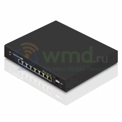Коммутатор Edge Switch 8 (150 W Model. ES-8-150W-EU) Коммутатор Edge Switch 8 (150 W Model. ES-8-150W-EU)
